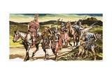 Roman Soldiers Giclee Print by Ron Embleton