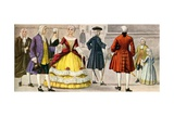 18th Century Italian Dress Giclee Print by Tancredi Scarpelli