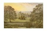 Ilam Hall Giclee Print by Alexander Francis Lydon