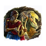Orpheus and Eurydice Giclee Print by Roger Payne