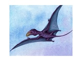 Pre-Historic Bird Giclee Print by David Nockels