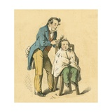 Hair Cut Giclee Print by  English School