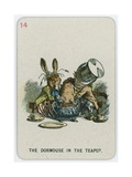 The Dormouse in the Teapot Giclee Print by John Tenniel