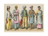 Asia Costume Giclee Print by  French School