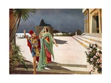 Aida, Act III Giclee Print by William De Leftwich Dodge