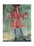 A Man of the Time of Queen Anne 1702-1714 Giclee Print by Dion Clayton Calthrop