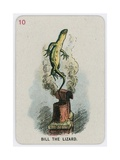 Bill the Lizard Giclee Print by John Tenniel