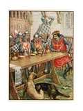 The Black Arrow Giclee Print by Walter Crane