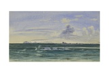 Cape Philips from Off Coulman Island, 13 Jan, 1902 Giclee Print by Edward Adrian Wilson