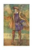 A Man of the Time of Elizabeth 1558-1603 Giclee Print by Dion Clayton Calthrop