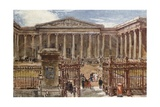 The British Museum Giclee Print by John Fulleylove