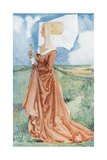 A Woman of the Time of Richard III 1483-1485 Giclee Print by Dion Clayton Calthrop