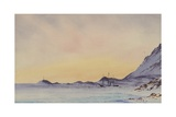 'Discovery' in Winter Quarters, McMurdo Sound, c.1901-04 Giclee Print by Edward Adrian Wilson