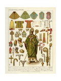 Ecclesiastical Costume Giclee Print by Albert Kretschmer