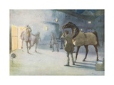 I Saw James Coming Through the Smoke, Leading Ginger Giclee Print by Cecil Charles Windsor Aldin