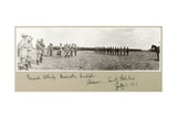 General Allenby Decorating Australian Troops at Abassan, South Palestine, August 1917 Giclee Print by Capt. Arthur Rhodes