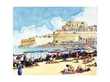 Costa Brava, Spain Giclee Print by David Nicolle