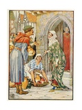 Robin Hood as the Potter Giclee Print by Walter Crane