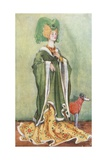 A Woman of the Time of Henry VI 1422-1461 Giclee Print by Dion Clayton Calthrop