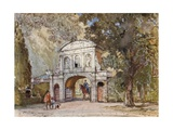 Temple Bar, Now at Theobald's Park, Cheshunt Giclee Print by John Fulleylove
