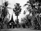 The House Tamberan of Kanganama on the Sepik River, Papua New Guinea, 1974 Fotografie-Druck