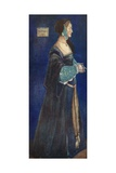 A Woman of the Time of Henry VIII 1509-1547 Giclee Print by Dion Clayton Calthrop