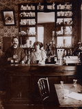 Cafe Owners, 1910 Photographic Print by  French Photographer