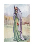 A Woman of the Time of Henry III 1216-1272 Giclee Print by Dion Clayton Calthrop