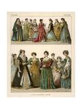 Italian Costume 1500-1600 Giclee Print by Albert Kretschmer