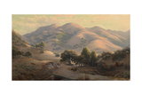 Untitled (Landscape with Mount Tamalpais), 1908 Giclee Print by Jack Wisby