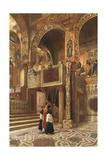Capella Palatina, Palermo Giclee Print by Alberto Pisa