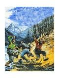 Klondike Giclee Print by Graham Coton