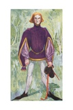 A Man of the Time of Edward IV 1461-1483 Giclee Print by Dion Clayton Calthrop