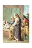 The Raising of Jairus' Daughter Giclee Print by  English School