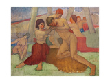 Nude Couple Giclee Print by Isaac Rosenberg
