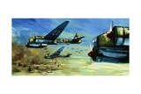 Holland, 14 May 1940 Giclee Print by Gerry Wood