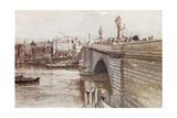 New London Bridge Giclee Print by John Fulleylove