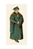 Chancellor Sir Thomas More Giclee Print by Albert Kretschmer