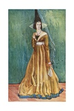A Woman of the Time of Edward IV 1461-1483 Giclee Print by Dion Clayton Calthrop