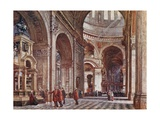 Interior of St. Paul's Cathedral Giclee Print by John Fulleylove