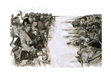 The Battle of Culloden Giclee Print by Richard Hook