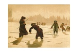 Maupertuis in Lapland Giclee Print by Josep or Jose Planella Coromina