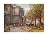 St. Paul's Churchyard Giclee Print by John Fulleylove