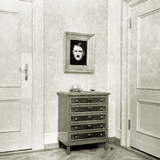 Hitler's Portrait in Eva Braun's Living Room, 1937 Photographic Print by  German photographer