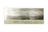 Rough Sea, Khan Yunis, July 1917 Giclee Print by Capt. Arthur Rhodes