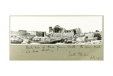 Back View of Khan Yunis Castle, South Palestine, July 1917 Giclee Print by Capt. Arthur Rhodes