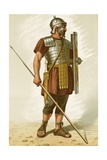 Roman Legionary Giclee Print by Etienne Ronjat