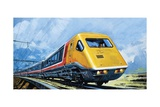 Intercity 125 Giclee Print by Harry Green
