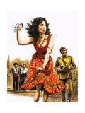 Bizet's Carmen Giclee Print by Roger Payne