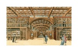 The Bodleian Library, Oxford Giclee Print by  English School